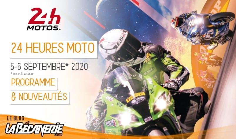 24 heures motos 2020 nouvelles dates