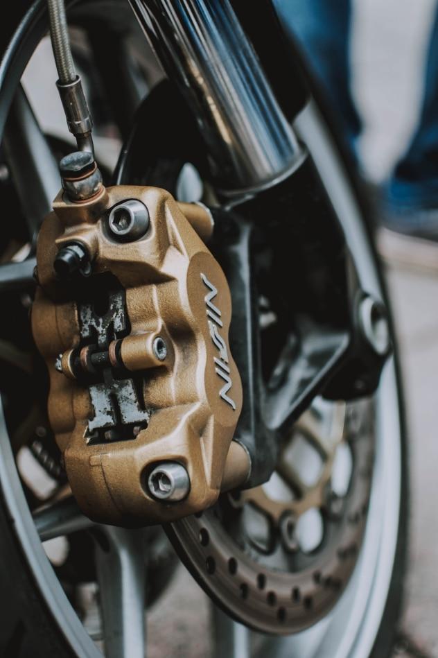 étrier de frein moto