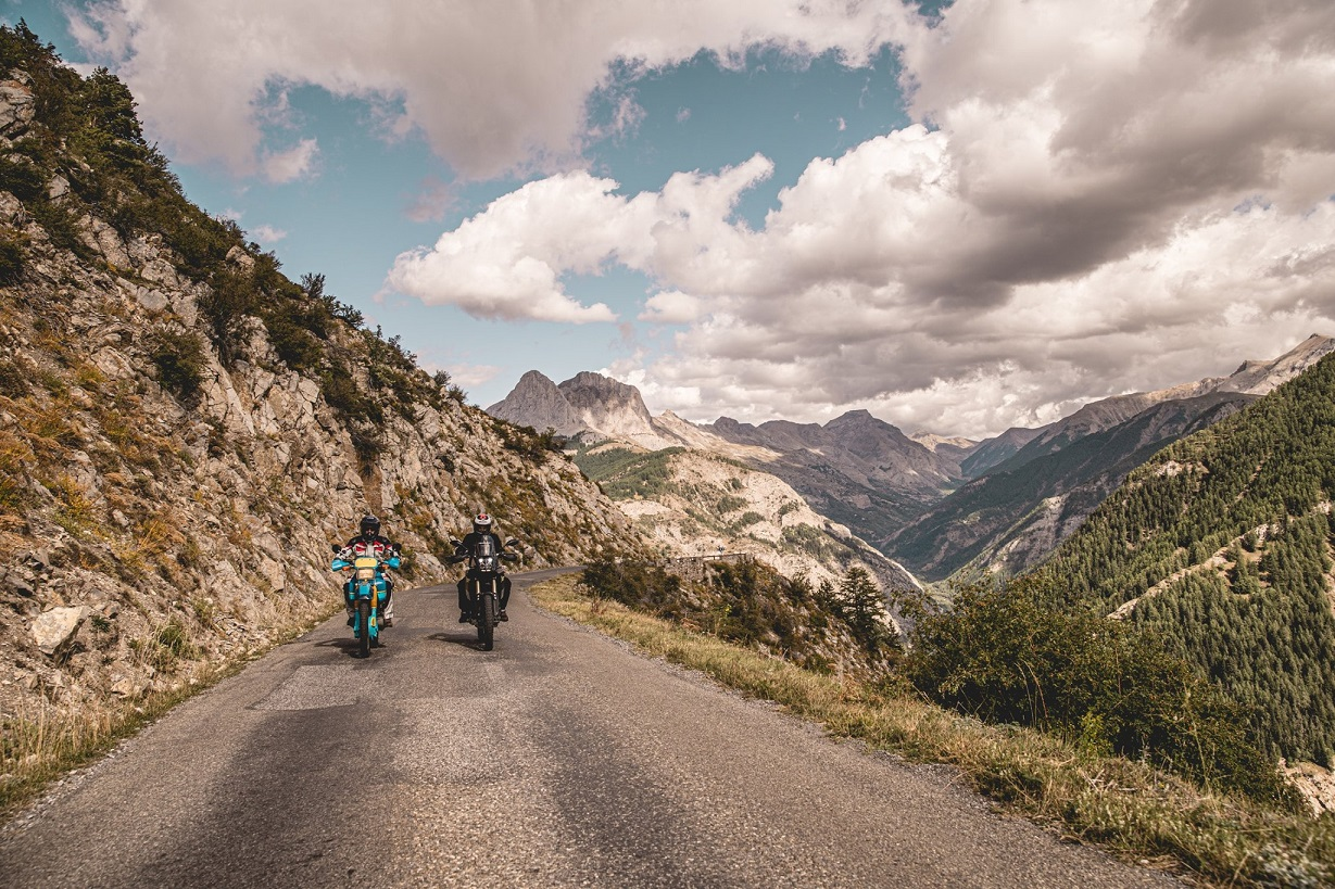 Petite balade autour de l'Alpes Aventure Moto Festival 2019 ©La Bécanerie