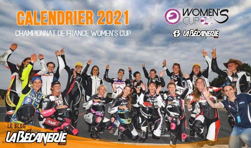 Calendrier 2021 du Championnat de France Womens Cup