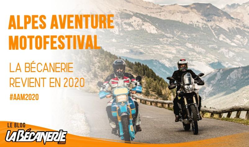 La Bécanerie Alpes Aventure Motofestival 2020