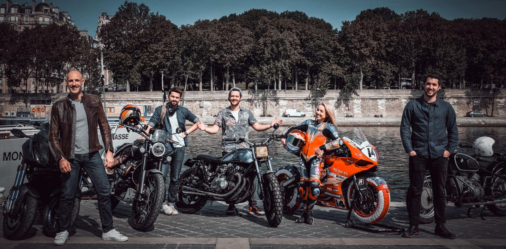 Les chroniqueurs de Moto Club - ©Auto Moto La Chaîne