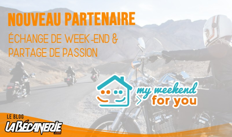 My Weekend For You nouveau partenaire de La Bécanerie