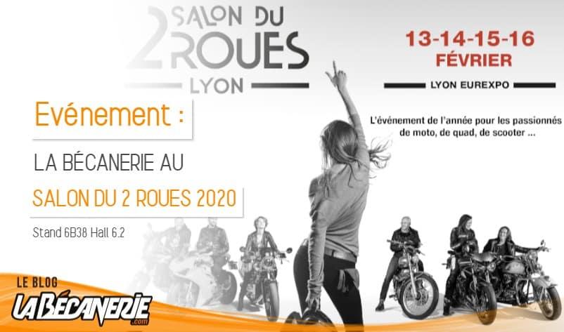 La Bécanerie au Salon du 2 Roues de Lyon 2020