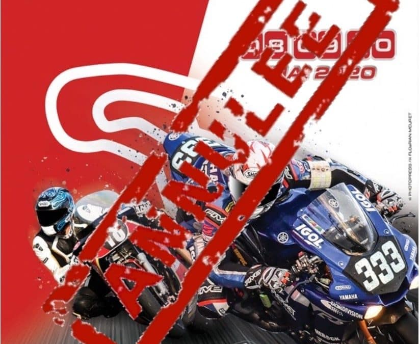 annulation 12H magny-cours 2020