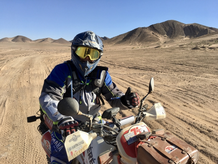 casque KENNY Trophy Paris-Dakar ©Ténéré Spirit