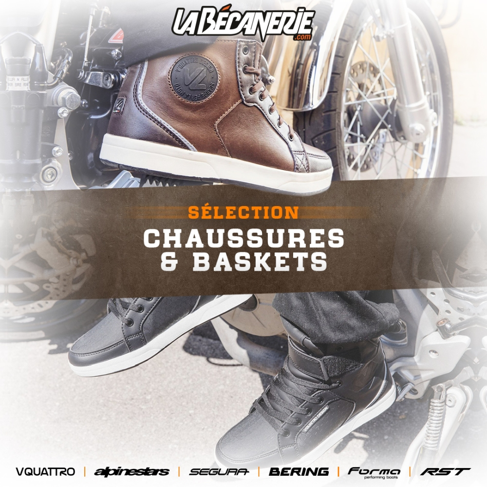 Chaussures et baskets moto