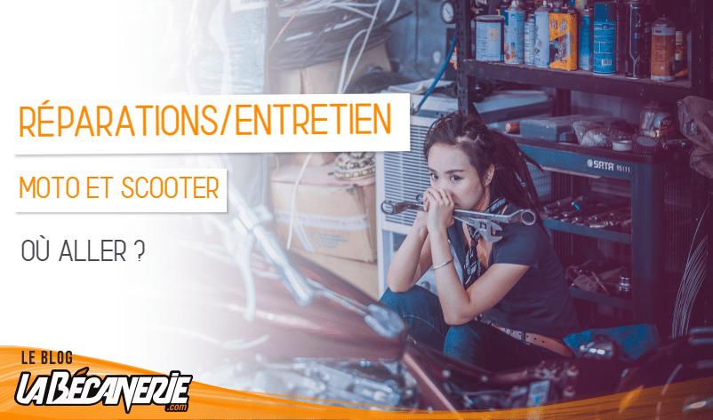 où faire réparer sa moto ou son scooter