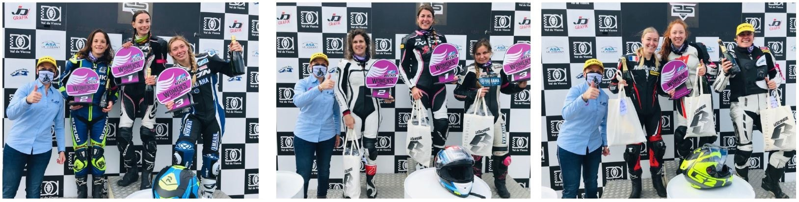 Podiums Women's Cup 2020 au Vigeant ©Aline Boury