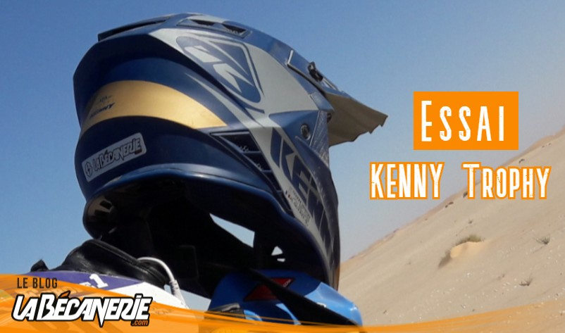 test du casque cross Kenny Trophy